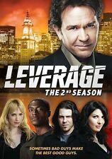 Leverage: Season 2 (DVD, 2011, Canadian)