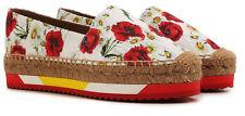 DOLCE & GABBANA woman shoes espadrillas £395 D&G   100%AUT g7w