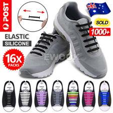 Easy Lazy No Tie Elastic Silicone Shoe Laces Cool Guy Shoelaces Unisex
