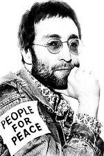 Fantastico John Lennon i beatles in tela #2 qualità Musica Foto A1 A3 GRATIS P&P