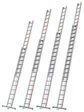 Seilzugleiter 2x14 2x16 2x18 2x20 Spr. L4,11-10,26m Trav. u. Rollen Hymer 4051..