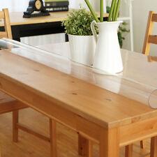 Transparent Tischdecke Tischfolie Glasklar Schutzfolie Tischschutz Folie 1,7 mm