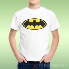 camiseta Niño niño Logo Batman Cartón Animación Vintage Idea De Regalo