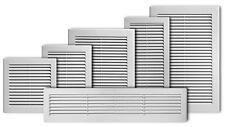 Lüftungsgitter mit Insektenschutz Ø150 Abluftgitter Küche Mauerlüfter 22x22cm