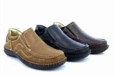 Dr Keller Neptuno Para Hombre Ancho Ajuste cojín antideslizante en mocasines zapatos Confort