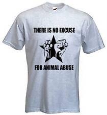 No hay excusa para abuso animal T-Shirt-derechos liberación Vegano vegetariana