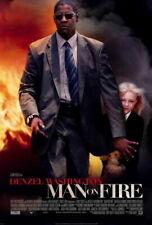 65430 Man on Fire Denzel Washington, Dakota Fanning Wall Print Poster AU