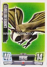 Carrier Butterfly #157 - Force Attax Serie 2