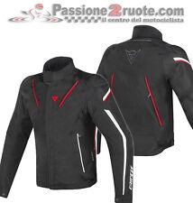Giacca Dainese Stream Line Dry Black White Red waterproof Moto Jacket