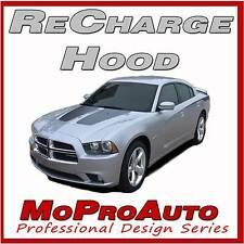 2014 Dodge Charger RECHARGE Split Hood Stripes Decals Graphic 3M Pro Vinyl N42