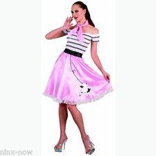 1950's Grease Sandy Rock & Roll Women's Fancy Dress Costume