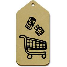 Carro de compra' ' Regalo/etiquetas de equipaje (paquete de 10) (vTG0018271)