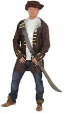 edler Pirat Freibeuter Kostüm für Herren Karneval Piraten Seeräuber Gr. M - XXXL