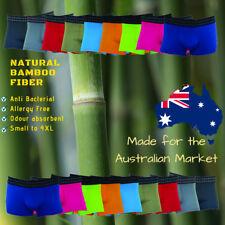 Mens Underwear Organic Bamboo, Big Sizes 4XL 3XL 2XL to Small Boxer Trunks Jocks