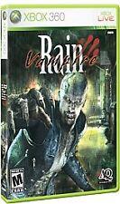 Vampire Rain (Microsoft Xbox 360, 2007, Complete & VG, Eng & Fr)