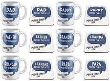 Personalised You're The Best... Novelty Gift Mug & Coaster