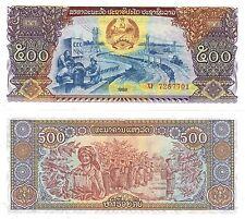 Variazione Multi-Listing 5 denominazioni banconote del Laos UNC