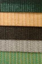 90% 1.83m x 30m Premium Heavy Duty Shade Cloth Various Shadecloth colours 10y UV