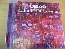 UB 40 LABOUR OF LOVE 3   CD MINT