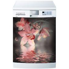 Stickers lave vaisselle ou magnet Orchidée 5515