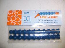 "Loc-Line 1/4"" Hose Segment Pack 2 Pieces 5 3/4"" Long 41401 NEW!!!"