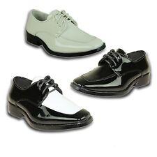 VANGELO/TUX-3 Boy Dress Shoe Tuxedo Wedding, Prom, Formal Event Wrinkle Free