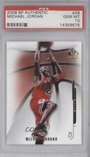 2008 SP Authentic #29 Michael Jordan PSA 10 GEM MT Chicago Bulls Basketball Card