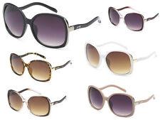 Giselle Women Collection Vintage Retro Butterfly Designer Sunglasses + Soft Bag