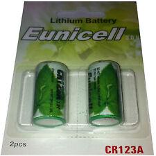 """Mercancías de marca """"Eunicell"""" 3v batería de litio tipo: cr123a"""