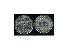 ETATS DE L'AFRIQUE DE L'OUEST  100 francs  1997 SPL