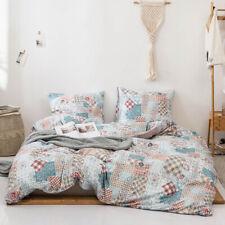 Paisley Blue Duvet Cover Sets Twin Queen King Size Bedding Set Pillow Case