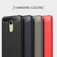 Housse etui coque silicone gel carbone pour Xiaomi Redmi 5 Plus + film ecran
