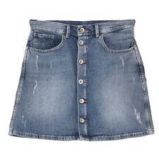 21586 PEPE Damen Jeansrock Minirock Skirt TATE Stretch blue vintage blau