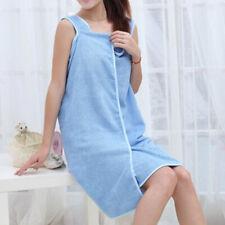 150*80cm Femme Serviette Bain Robe Peignoir Camisole Microfibre Séchage Rapide