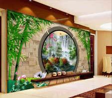 Chinese Novel Lotus 3D Full Wall Mural Photo Wallpaper Printing Home Kids Decor
