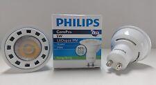 NEW PHILIPS GU10 LED SPOT LAMPS 5w = 50w 2700K Warm White  90% ENERGY SAVING !