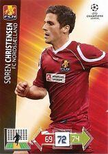 CHRISTENSEN # DENMARK FC.NORDSJAELLAND CHAMPIONS LEAGUE TRADING CARDS 2013