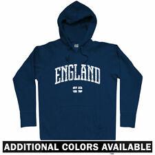 England Hoodie - UK Britain British London Three Lions English GB - Men S-3XL