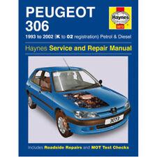 NUOVO manuale HAYNES PEUGEOT 306 93-02 AUTO OFFICINA RIPARAZIONE BOOK h3073