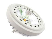 Lampe Spot LED AR111 G53 bâtie COB 15W = 140W 220V chaud White Spot 24 Degrees
