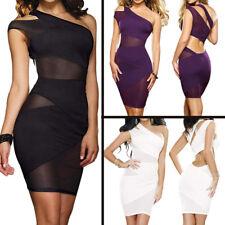 Sexy Women Sleeveless Bodycon Short Mini Dress NightClub Wear Skirt Lingerie