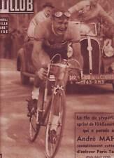 1950 BUT et CLUB n°233 PARIS TOURS MAHE boxe DAUTHUILLE