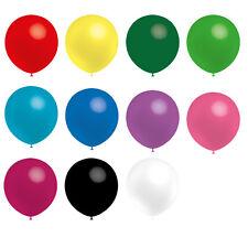 Luftballons 32cm Ø freie Farbauswahl 100% Naturlatex Party Helium geeignet
