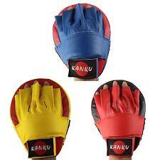 KANKU Boxing punching kicking thick curved target focus punch mitt pad GYM