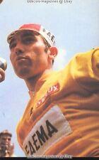 EDDY MERCKX Cyclisme winner Tour de FRANCE Maillot Jaune FAEMA vainqueur vélo