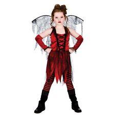 GIRLS TEEN VAMPIRE FAIRY DRACULA VAMPIRESS OUTFIT HALLOWEEN FANCY DRESS COSTUME