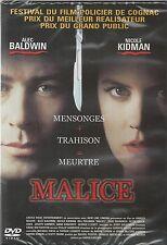 Malice - Alec Baldwin & Nicole Kidman - DVD