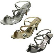 Donna Anne Michelle Cinturino alla Caviglia sandali con serpente motivo