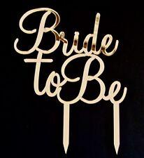 Bride To Be Acrylic Cake Topper, by VividLaser