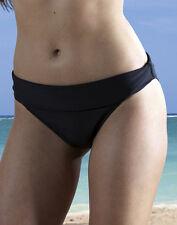 ROSA FAIA Adjustable Top Bikini Brief 8791 in Black